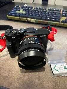 Sony Cyber-shot DSC RX1Full Frame Compact Digital Camera - Extra Value Package