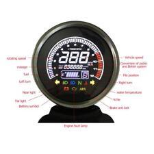 Universal 12V Motorcycle LCD Digital Odometer Speedometer Tachometer Gauge