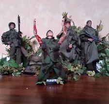 Custom 1-6 scale 12 inch sideshow Platoon figure set lot