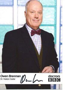 Owen Brendan ( Doctors ) Signed Cast Card