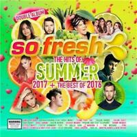 SO FRESH The Hits Of Summer 2017 + The Best Of 2016 feat. Flume 2CD NEW