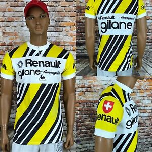 Gitane Campagnolo Le Coq 70's Renault Vintage Cycling Jersey Switzerland Size 5