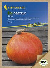 Kiepenkerl bio-semillas de calabaza Hokkaido kastanienkürbis 2711 largos Almacenable