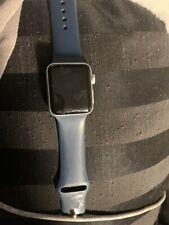 Apple Watch Series 3 GPS 42mm Silver Aluminum Case White Sport Band - MTF22LL/A