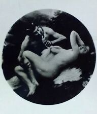 Satyre and Nymph Orig. Black & White Nude Salon de Paris 1920-1929 J. Scalbert