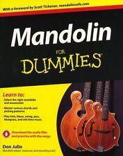 Mandolin For Dummies Learn to Play Irish Celtic Blues Swing JAZZ Music Book & CD