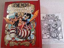 ONE PIECE GRAND PAPER ADVENTURE 3D Picture Book Jump Eiichiro Oda Anime Rare L/E