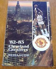 NBA   cleveland cavaliers  yearbook 1982-83