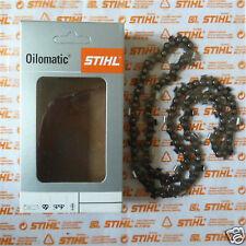 """Genuine STIHL CHAINSAW Talla 25cm 10"""" cadena Rms 1/4"""" 56 3661 003 0056 seguimiento"""