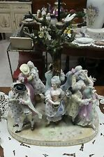 MEISSEN GRUPPO SCULTOREO IN PORCELLANA 1700 CERTIFICATO-INTERNATIONAL SHIPPING