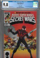 Secret Wars 1 Miles Morales Ultimate Fallout 4 Variant CGC 9.8 HeroesCon Heroes
