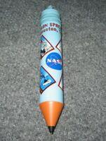 NASA Space Shuttle Pencil Holder Vintage Collectible Johnson Center Huston Rare