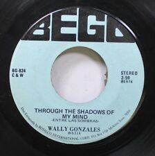 Hear! Latin Country Texas 45 Wally Gonzales - Through The Shadows Of My Mind / M