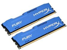 HyperX FURY Blue 8GB 2X4GB Dual Channel DDR3 1333MHz PC3-10600 DIMM Desktop