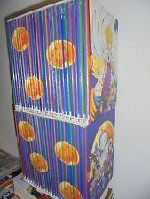 OPERA COMPLETA DUE BOX COFANETTI 49 DVD DRAGONBALL Z GAZZETTA DELLO SPORT