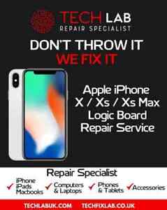 iPhone X / XS / XS Max Logic Chip-Level Motherboard Common Faults Repair Service