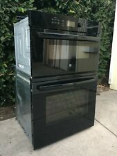 """New listing Ge Jk3800 27"""" Black Microwave-Oven Wall-Oven Combo $900 Obo"""