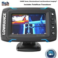 Lowrance Elite-5 Ti Touch Fishfinder/Chartplotter With TotalScan TM Transducer