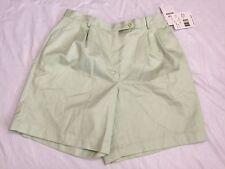 Liz Claiborne 16 Petite Shorts Fruit Flavors Green Casual Walking NWT