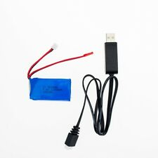 1pc 7.4V 1100mah RC LiPo Battery With Charger For Wltoys A949 A959 A969 A979 Car