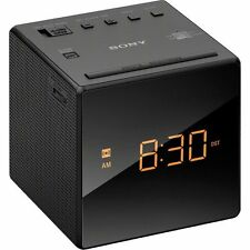 Sony Icfc1 Alarm Clock Radio, Black New
