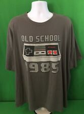 Nintendo Entertainment System NES T Shirt Mens Size 4XL Old School 1985 Logo