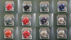 NFL Vintage Gumball MINI Helmets w/ NEW Display Box CHOICE Cowboys Jets Chiefs