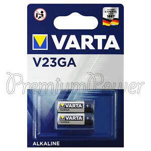 2 X VARTA Alcaline V23GA Piles 12V 8LR932 23A MN21 4223
