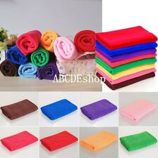 Microfibre Hand Face Towel Absorbent Drying Sports Travel Gym Camping 30x70cm