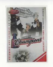 2010-11 Certified Champions Mirror Red #18 Vincent Lecavalier Lightning /250