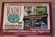 Radio System Corporation Model RF1001 In-Ground Dog Pet Fence w/ Collar UNUSED**