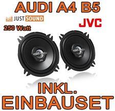 Audi a4 b5-JVC 13cm 250 vatios altavoces delante 16cm Front puerta-kit de integracion