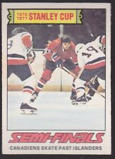 1977-78 OPC O-Pee-Chee Stanley Cup Semi Finals Montreal vs New York #262 nr mint