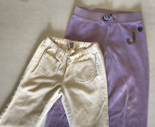 2 Pairs Leggins sweatpanys Sweatpants Girls Baby Gap And Juice Couture Size 2-3T