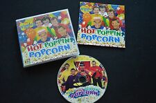 THE WIGGLES HOT POPPIN POCORN RARE AUSTRALIAN CD! ABC TV ABC FOR KIDS