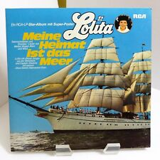 "1977 Lolita ""Mein Heimat Ist Das Meer"" RCA PL 29 400 Near Mint Stereo Vinyl LP"