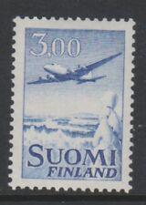 Finland - 1963, 3m Blue Air stamp - M/M - SG 679