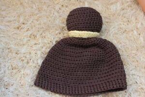 Handmade Knit Crochet Baby Child Kids Cinderella  Hat Cap Baby Shower Hat Beanie