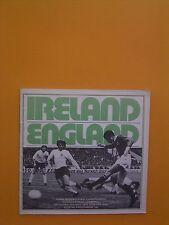Home International - Ireland v England - 12th May 1973