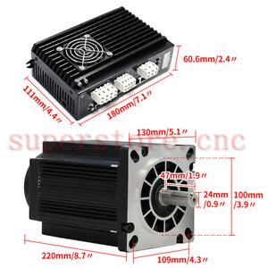 NEMA52 High Torque 28NM Closed Loop Stepper Motor & Digital Display Servo Driver
