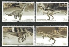 Thailand 1997 Dinosaurs set of 4 Mint Unhinged