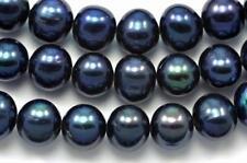 Perline sfuse di gemma nero