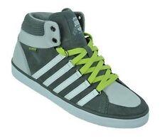 Chaussures gris à lacets en cuir pour garçon de 2 à 16 ans