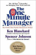 The One 1 Minute Manager hardcover book Spencer Johnson Kenneth Blanchard
