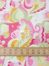EXTRAVAGANZA FLORAL PINK BY RILEY BLAKE COTTON FABRIC FH-2879 BY YARD CLOTHING