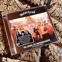 MOTORHEAD NO SLEEP TILL HAMMERSMITH 20th Remastered 2 x cd + bonus tracks LEMMY