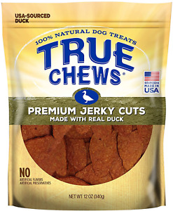 True Chews Natural Dog Treats Premium Jerky Cuts Made With Real Duck