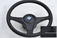 Steering Wheel BMW E30 E24 E34 E28 E32 NEW LEATHER BLACK KBA70088 OEM LOOK NEW