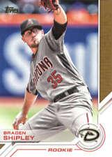 2017 Topps Series 2 Baseball Salute #S-185 Braden Shipley Diamondbacks
