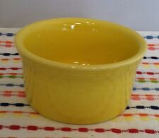 Fiestaware Sunflower Ramekin Fiesta Yellow Individual Cake Baker